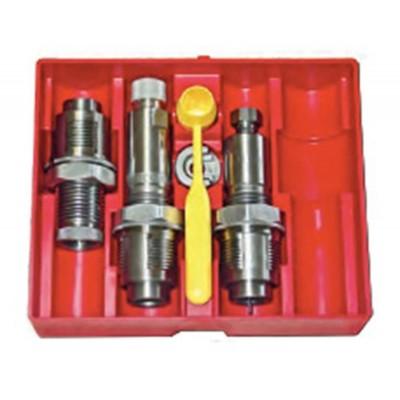 Lee Precision 3 Die Steel Pistol Die Set 30 LUGER LEE90754